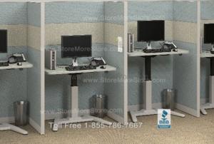 movable counter tables work surface push button ergonomic desk