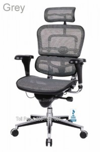 mesh ergohuman ergonomic lunbar support office executive seating computer chairs