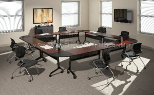folding nesting meeting office training table tables desks nest-n-stack