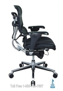 profile ergonomic office seating chair ergohuman executive rolling conference desk seat