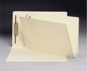 legal size 11 pt manilla file folder with fastener files filing supplies