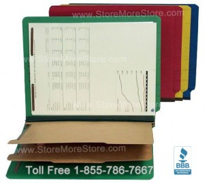 classification folders folder dividers fasteners document organization