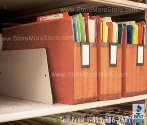 file folder shelf divider shelving dividers legal letter