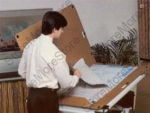 archival storage folders envelopes blueprints pictures plan drawings document preservation