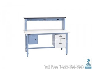 height adjustable ergonomic work surface workstations workbenches industrial benches
