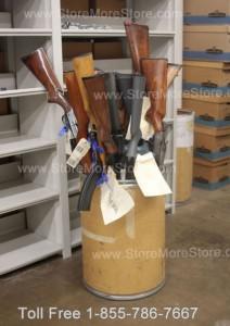 Police gun storage Law enforcement weapon storage sheriff department evidence room