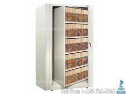 Floor space saving storage cabinets Rotary storage system Room divider storage