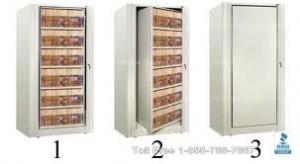 Rotary storage system Rotary filing cabinets space saving storage Flexible storage cabinets