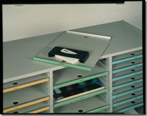 Adjustable Hamilton Sorter Shelves
