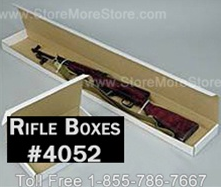 Store rifle evidence in Long Gun Boxes