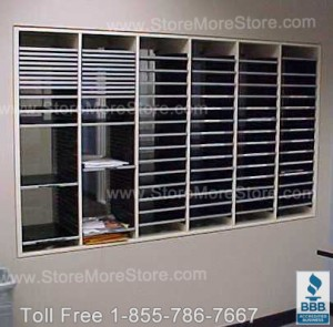 Pass Thru Hamilton Sorter Mailroom Furniture