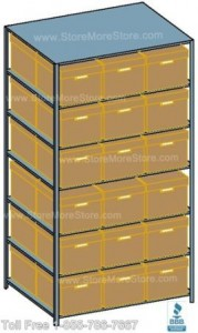 file box storage shelving that saves space and maximizes your storage area