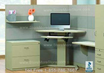 Ergonomic Adjustable Corner Computer Desks