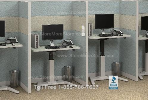 Ergonomic Height Adjustable Computer Desks