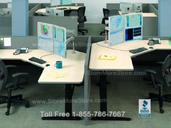 Height Adjustable Computer Desks