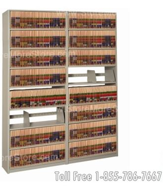 Store records in your office on file shelving in-a-box
