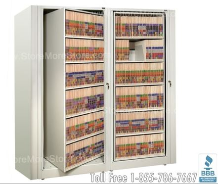starter and adder Rotary File Cabinets