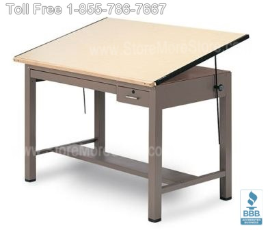 art drawing tables for drafting & architectural large documents