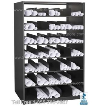 drafting & architectural large document storage solutions rolled blueprint cubby shelves