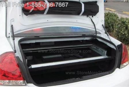 store guns, ammo, and equipment in police car weapon safes