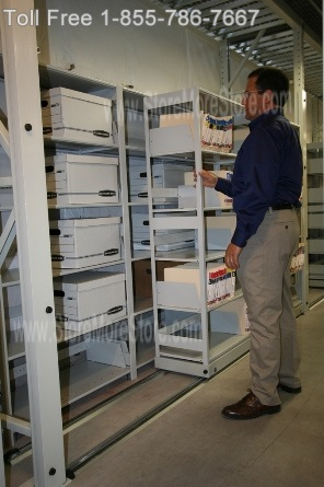 Mobile Lateral Cabinets keep files organized