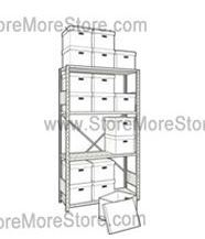 get organized by storing archives and files in record box storage shelving