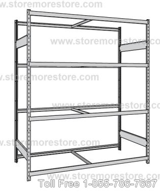 Metal Bulk Racks without Decking