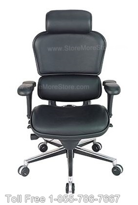 Ergonomic Executive Chair in Leather