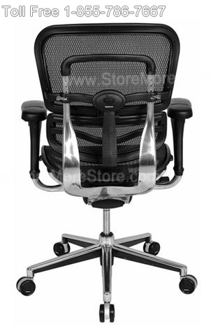 Mesh Ergonomic Executive Chair Back View