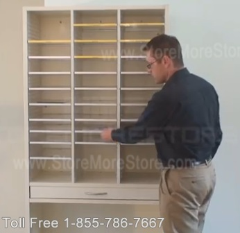 Office Sorting Units for Organizing Literature, Mail, Forms and Other Documents