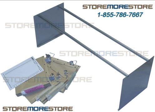 Oblique Shelf Organizer Parts and Folders