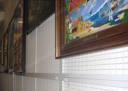museum displays and stores framed artwork