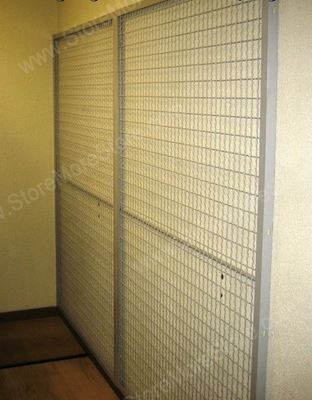 wire mesh wall mounted art racks