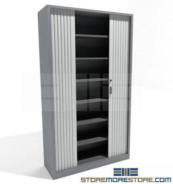 Individual Tambour Door Cabinet