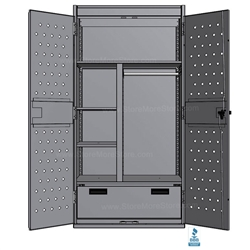 lockers for law enforcement personal property storage