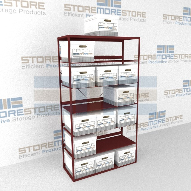 Stationary Box Shelving