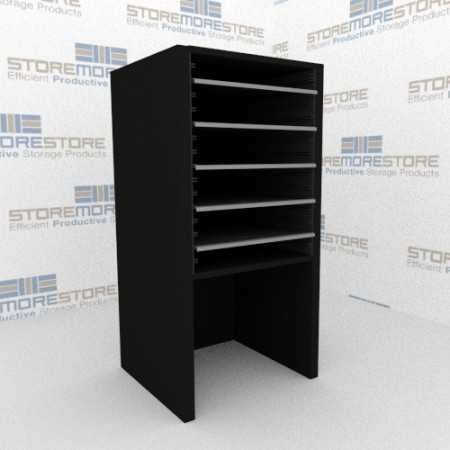 freestanding mail sorting furniture