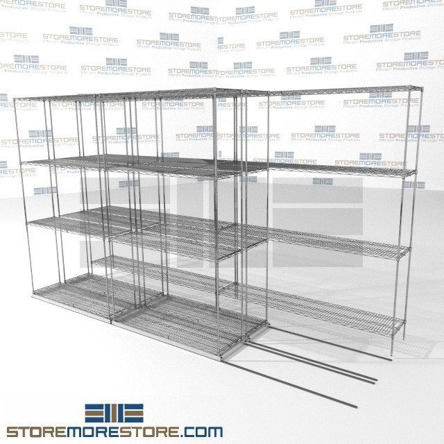 Shelving for Restaurant & Cafeteria Food Storage