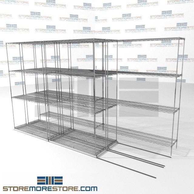 Shelving for Restaurant & Cafeteria Food Storage