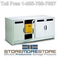 open door satellite mail center consoles