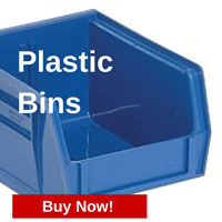 Buy Plastic Bins from StoreMoreStore