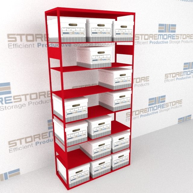 box shelving warehouse storage solution