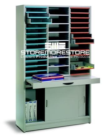 freestanding document sorter