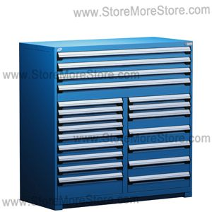 heavy-duty mobile drawer cabinet industrial storage