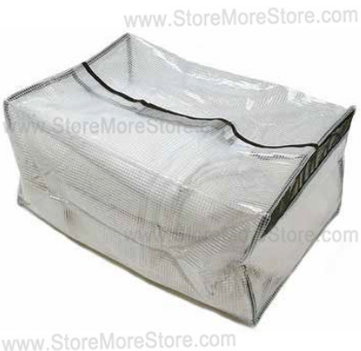Clear In-Cell Personal Property Storage Bags