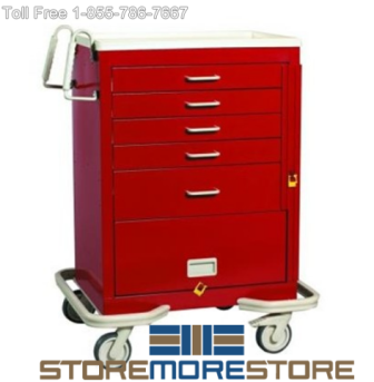 Medical Supply Storage Carts