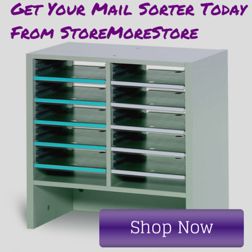 buy mail soters with adjustable shelves online from storemorestore