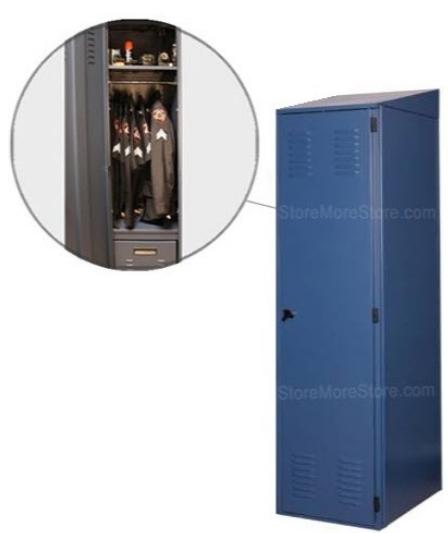 Personal Gear Storage Lockers