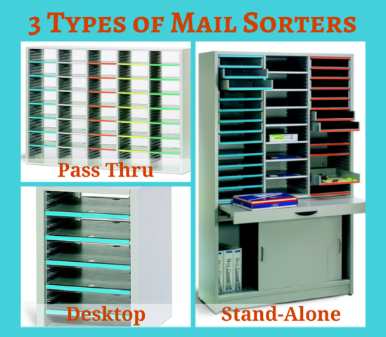 3 Types of Mail Sorters for Organizing Office Mail