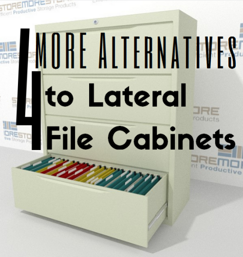 4 more alternatives to lateral cabinets